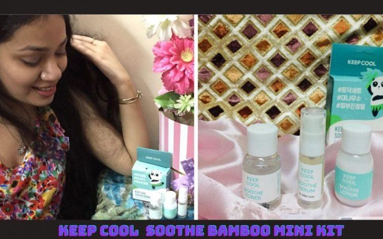 Keep Cool Soothe Bamboo Mini Kit by Maccaron Editor