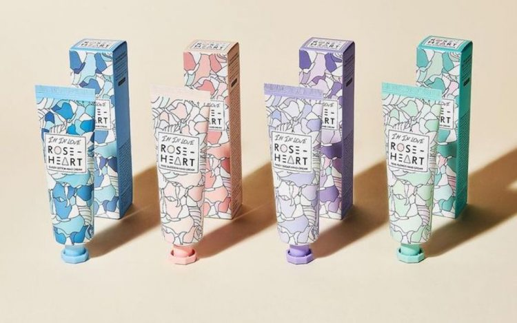 I'm in love Roseheart hand cream products