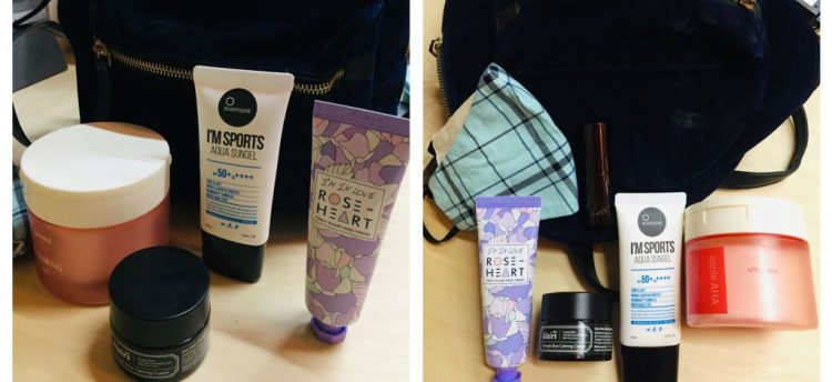 Travel friendly Korean beauty products